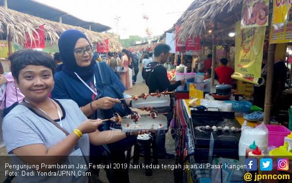 Pasar Kangen Manjakan Lidah Penonton Prambanan Jazz 2019 - JPNN.com