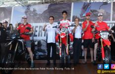 AHM Lebarkan Pembinaan Pembalap Indonesia di Motorcross Grand Prix - JPNN.com
