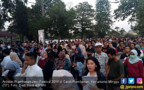 Penonton Membeludak di Hari Terakhir Prambanan Jazz Festival 2019 - JPNN.com