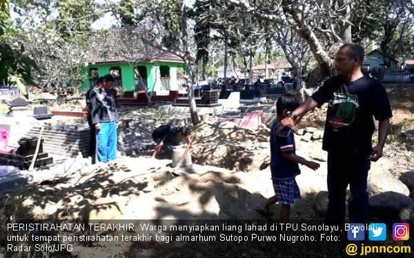 RIP Pak Topo, Ortu Minta agar Almarhum Dimakamkan di Boyolali - JPNN.com