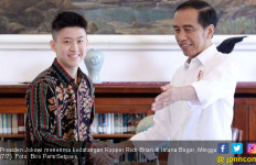 Rapper Rich Brian Dijamu Jokowi di Istana Bogor - JPNN.com