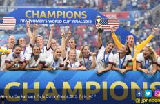 Taklukkan Tim-Tim Terbaik, Amerika Serikat Juara Piala Dunia Wanita 2019 - JPNN.com