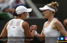 Tunggal Putri Nomor 1 Dunia Tumbang di Tangan Pemain yang akan Menikah usai Wimbledon 2019 - JPNN.com