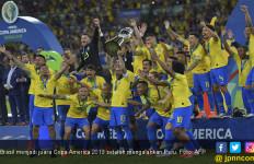 Diwarnai Kartu Merah, Brasil Jawara Copa America 2019 - JPNN.com