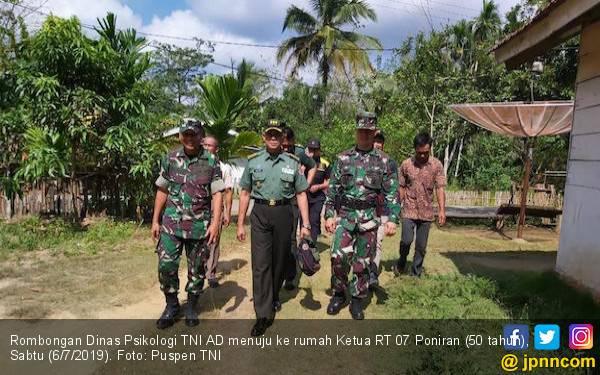 Tim Dinas Psikologi TNI AD Mendatangi Rumah Ketua RT, Ada Apa? - JPNN.com