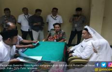 Pria Pengancam 'Penggal Kepala Jokowi' Sedang Berbahagia - JPNN.com