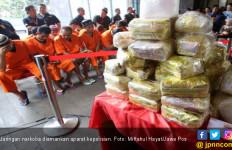 Polisi Amankan 72 Kg Sabu-Sabu dan 10 Ribu Pil Ekstasi Jaringan Malaysia - JPNN.com