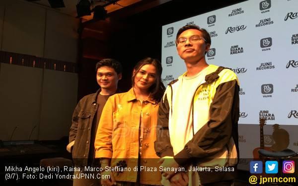 Raisa Gandeng Mikha dan Marco - JPNN.com