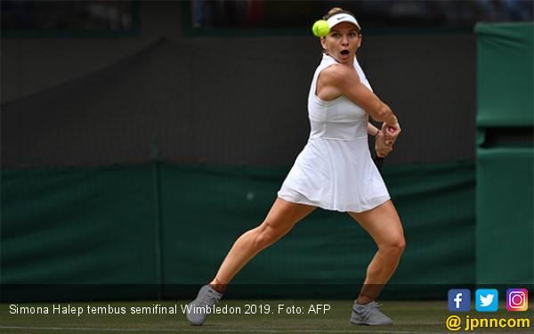 Petenis Seksi asal Rumania Simona Halep jadi Semifinalis Pertama Wimbledon 2019 - JPNN.com