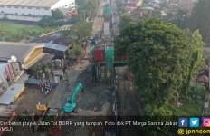 Cor Beton Proyek Jalan Tol BORR Tumpah - JPNN.com