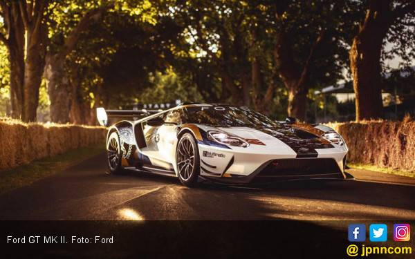 Ford GT MK II Fokus ke Aerodinamika - JPNN.com
