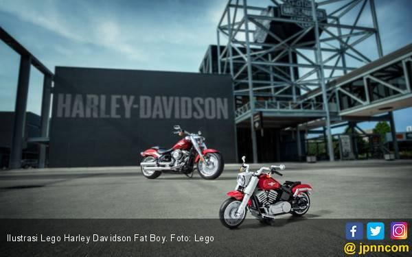 LEGO Meluncurkan Model Harley Davidson Fat Boy - JPNN.com