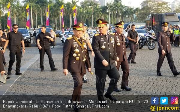 Jenderal Tito Berani Sampaikan Permintaan Langsung ke Presiden Jokowi - JPNN.com