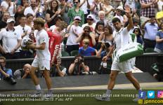 Novak Djokovic Tembus Semifinal Wimbledon 2019, Lihat Aksinya - JPNN.com