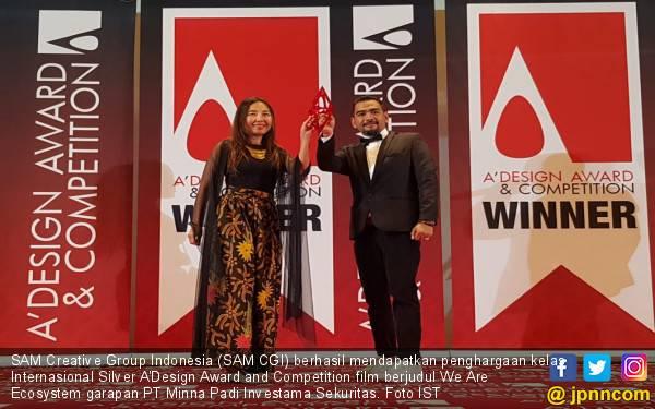 SAM CGI dan PT Minna Padi Investama Sekuritas Sabet Penghargaan Bergengsi di Italia - JPNN.com