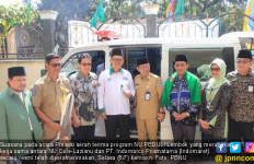 NU Peduli Lombok - Indomaret Serahkan Program kepada Penerima Manfaat - JPNN.com