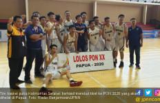 Lolos ke PON 2020, Tim Basket Putra Kalsel Susun Latihan Intensif - JPNN.com