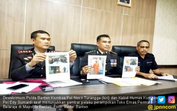 Perampok Emas 6 Kg di Tangerang Ternyata WN Malaysia - JPNN.com