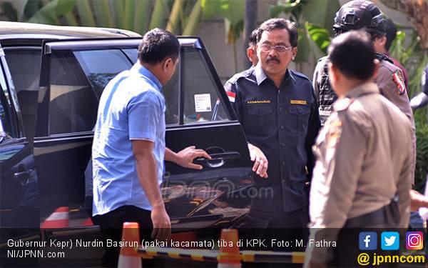 Makna Angka 757 yang Melekat dengan Gubernur Kepri Nurdin Basirun - JPNN.com