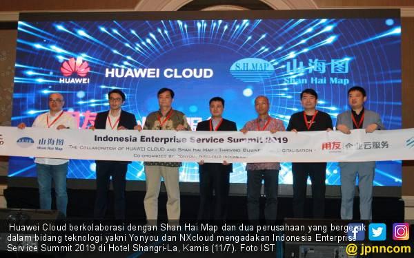 Gelar Indonesia Enterprise Service Summit 2019, Huawei Cloud Gandeng Shan Hai Map, Yonyou dan NXcloud - JPNN.com