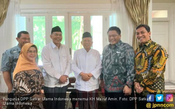 KH Ma'ruf Amin Dorong Satkar Ulama Indonesia Bangun Perekonomian Keumatan - JPNN.com
