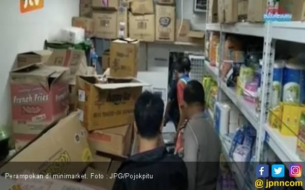 Waspada ! Perampok Sudah Satroni Tiga Minimarket Berturut - turut - JPNN.com