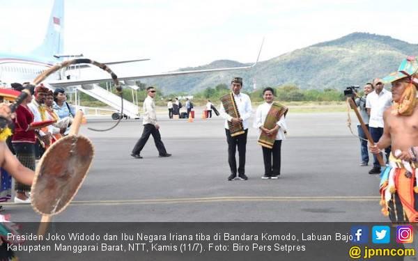 Jokowi Kunjungi Pulau Rinca, Ini Rencananya untuk Taman Nasional Komodo - JPNN.com