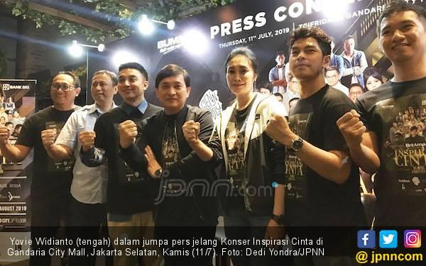 Yovie Widianto Ingin Menyebar Cinta di Surabaya - JPNN.com