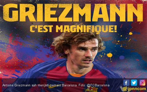 Rp 1,8 Triliun! Antoine Griezmann Resmi Milik Barcelona - JPNN.com