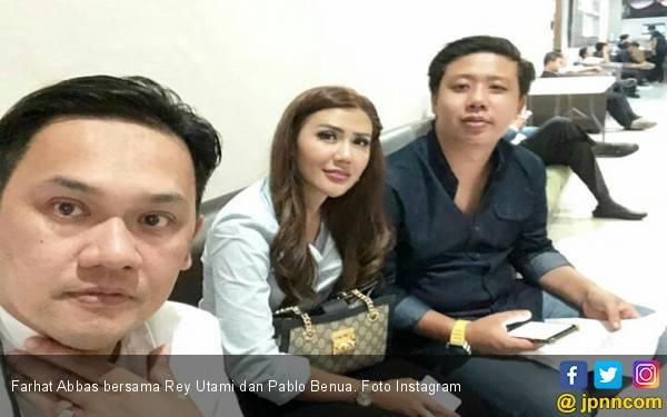 Farhat Abbas Tidak Lagi Jadi Kuasa Hukum Pablo Benua dan Rey Utami, Nih Penggantinya - JPNN.com