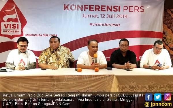 Gelar Visi Indonesia untuk Orasi Jokowi, Undang Prabowo - Sandi agar Mau Move On - JPNN.com