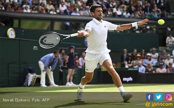 Lolos ke Final Wimbledon 2019, Djokovic Tak Sabar Menonton Nadal vs Federer - JPNN.com