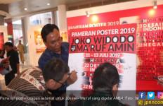 AM64 Gelar Pameran Poster Ucapan Selamat kepada Jokowi - Ma'ruf - JPNN.com