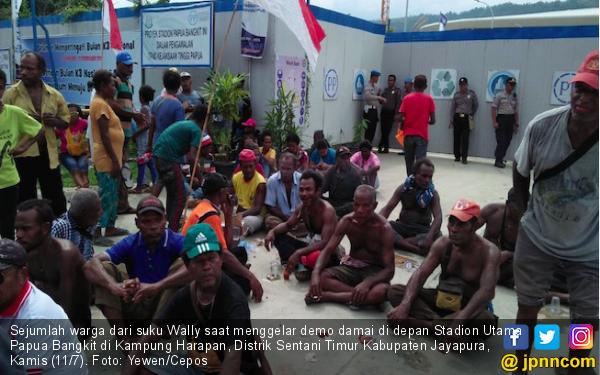 Ratusan Masyarakat Adat Suku Wally Tuntut Ganti Rugi Hak Ulayat - JPNN.com