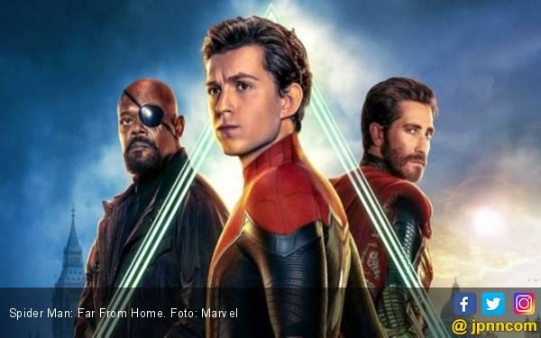 Pendapatan 'Spider-Man : Far For Home' Lampaui USD 1 Miliar - JPNN.com