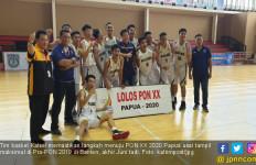 Raih Runner Up di Fase Grup, Tim Basket Kalsel Lolos ke PON Papua - JPNN.com