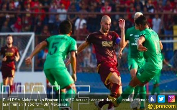 Sempat Tertinggal, PSM Akhirnya Taklukkan Bhayangkara FC - JPNN.com