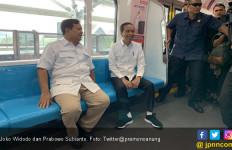 Mengungkap Pesan di Balik Diplomasi MRT Jokowi dan Prabowo - JPNN.com