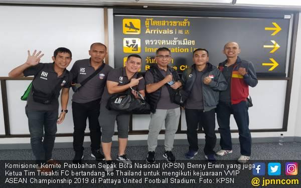 Komisioner KPSN Pimpin Tim ke VVIP ASEAN Championship 2019 - JPNN.com
