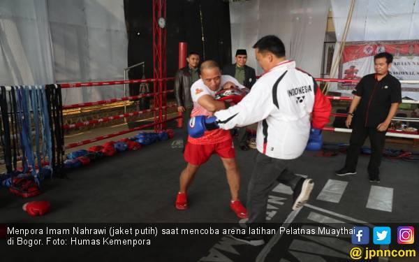 Tinjau Pelatnas Muaythai, Menpora ke Atlet: Kalian adalah Pejuang Merah Putih - JPNN.com