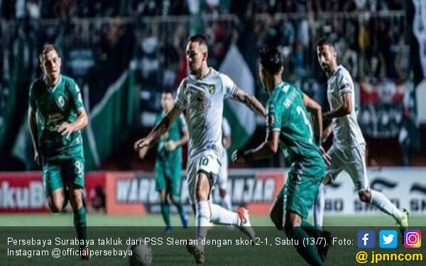 Gol Yevhen dan Tuharea Bawa PSS Sleman Menang 2-1 atas Persebaya - JPNN.com