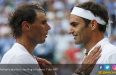 Kalah, Rafael Nadal Habis-habisan Memuji dan Mendoakan Roger Federer - JPNN.com