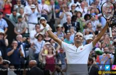 Federer Butuh 182 Menit Hentikan Nadal di Semifinal Wimbledon 2019, Melelahkan - JPNN.com
