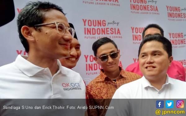 Sandi Merasa Tak Butuh Rekonsiliasi dengan Erick Ketua TKN Jokowi - JPNN.com