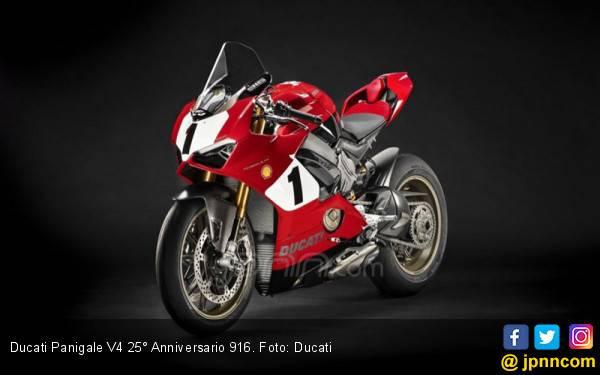Edisi Spesial Ducati Panigale 916 Penuh Penghormatan Para Pembalap - JPNN.com