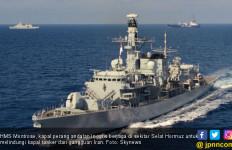 Kapal Perang Andalan Inggris Sudah Parkir di Hormuz, Mengancam Iran - JPNN.com