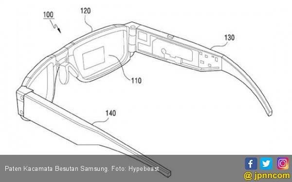 Samsung Kembangkan Kacamata Pintar Berbasis AR - JPNN.com