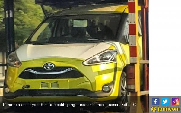 Bocor Penampakan Toyota Sienta Facelift, Netizen: Seperti Pakai Behel Gigi - JPNN.com