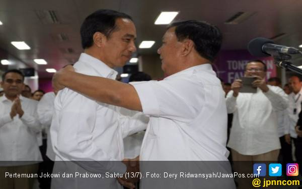 Prabowo Siap Kerja Sama dengan Jokowi, Bukan Gabung Koalisi - JPNN.com