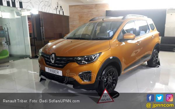 Diumumkan, Harga Renault Triber Mulai Rp 98,5 Juta - JPNN.com